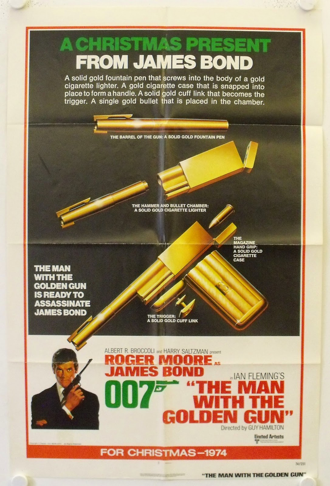 Advance Poster The Man With The Golden Gun