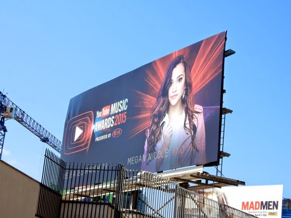 Megan Nicole YouTube Music Awards 2015 billboard