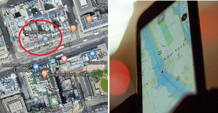 Πανικόβλητοι οι αριστεροί  με την σβάστικα στους Χάρτες Google
