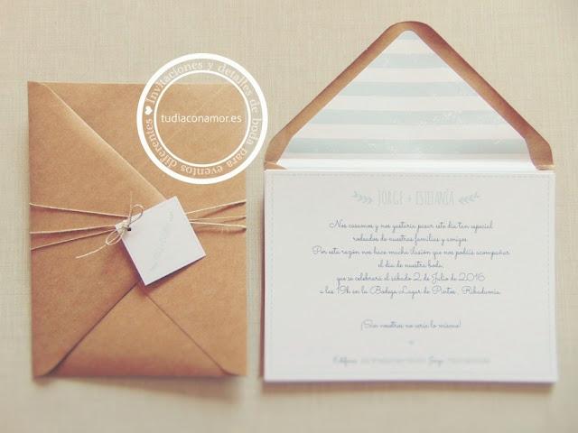 Invitaciones de boda hechas a medida, diferentes estilos
