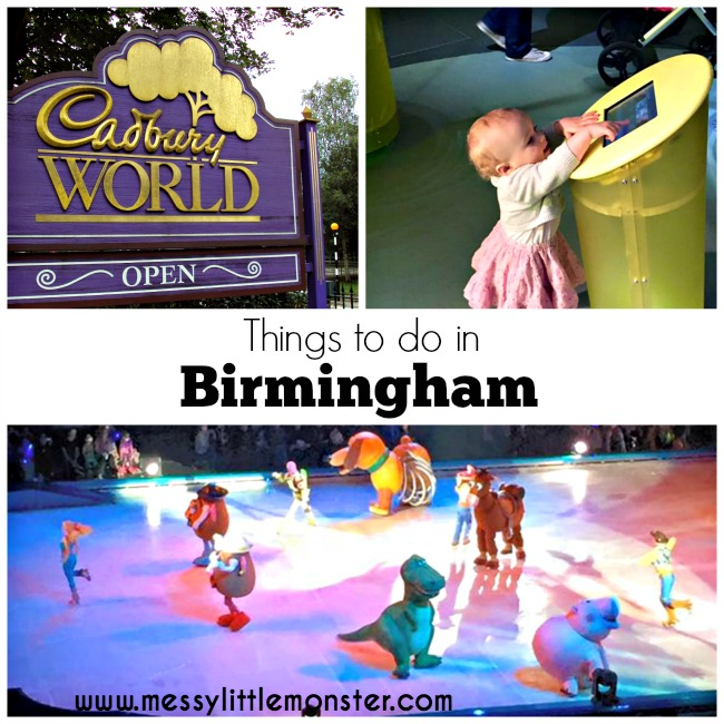 things to do / places to visit in Birmingham for kids/ family friendly
