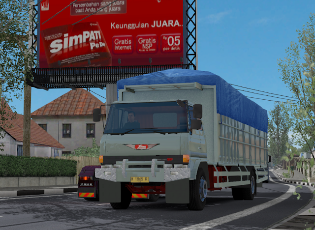 Download mod traffic hino ranger ets2