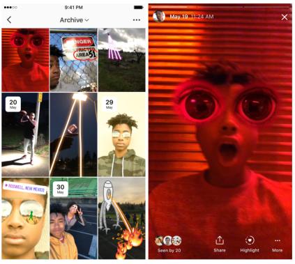 Cara Melihat dan Membagikan Ulang Kisah Instagram yang Diarsipkan 2