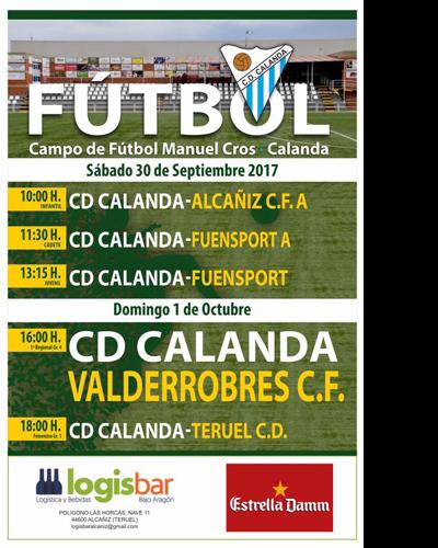 Partidos del Club Deportivo Calanda