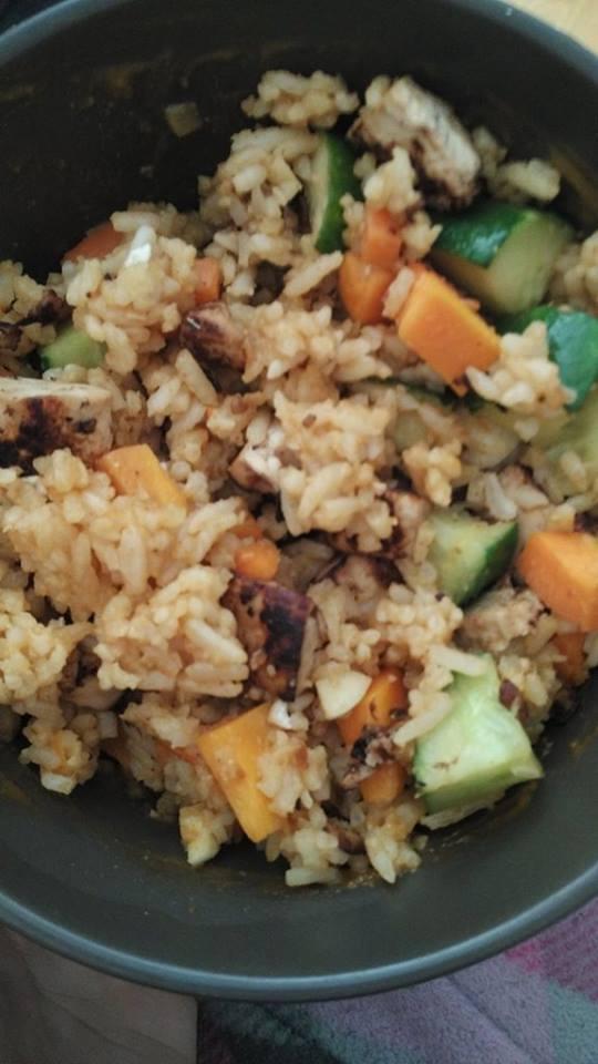Egg Fried Rice Without Egg   Vegan Vs Travel