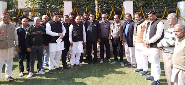 MLA Lalit Nagar takes place on the occasion of Republic Day, flag hoisting