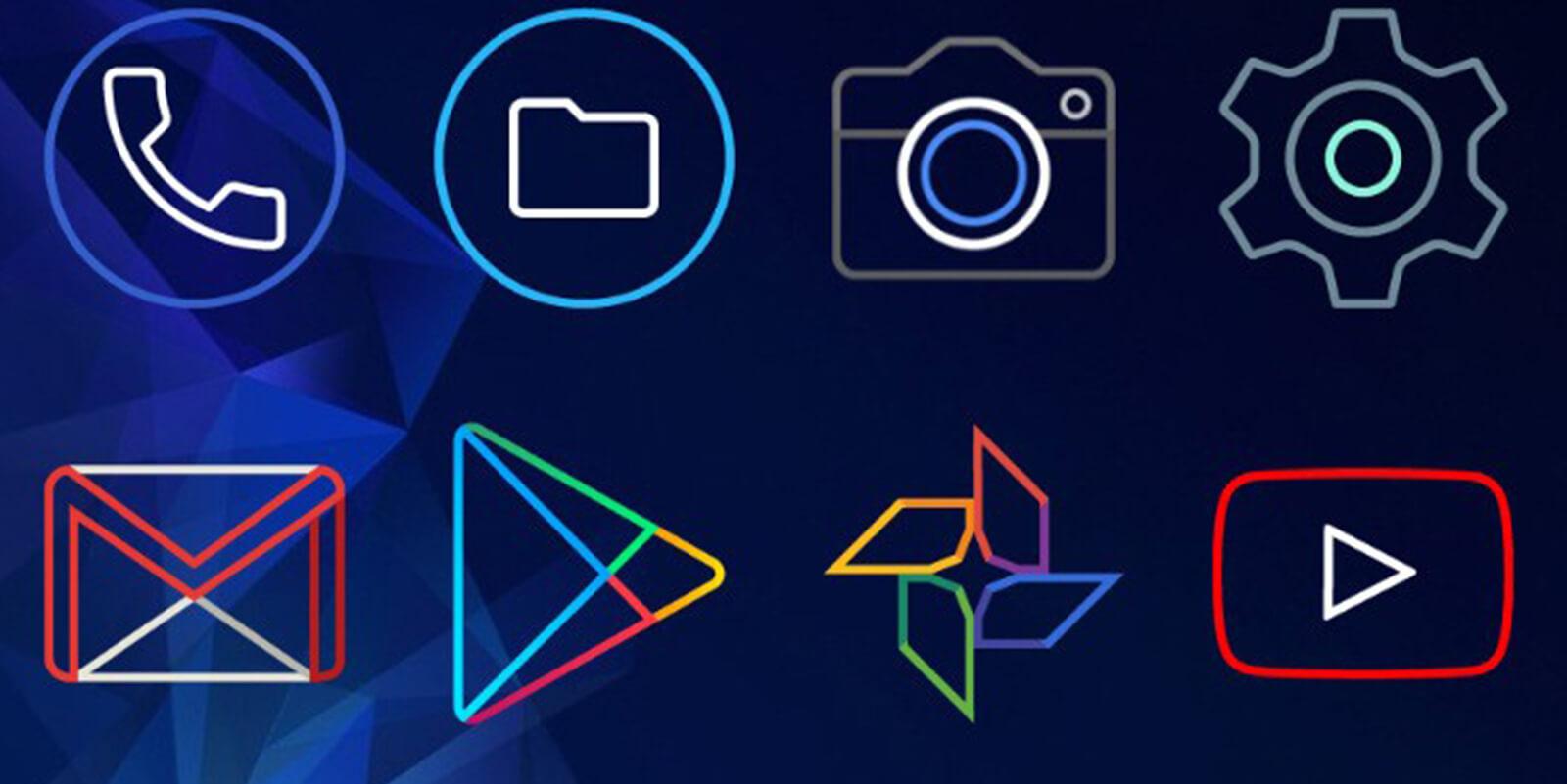 Outline Icons APK