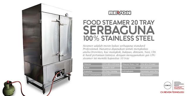 Jual Steamer Makanan (Food Steamer) di Bali