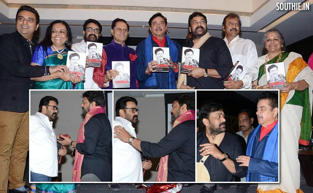 When Legends Meet, Social Media goes Berserk. Chiranjeevi, Mohan Lal, Mohan Babu, Shatrughan Sinha, Subbi Rami Reddy all gather to launch Anything but Khamosh and fecilitate Shotgun Sinha.