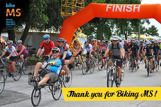 Thank you to Bike MS 2014!