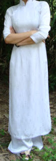 Robe traditionnelle vietnamienne (Ao Dai)