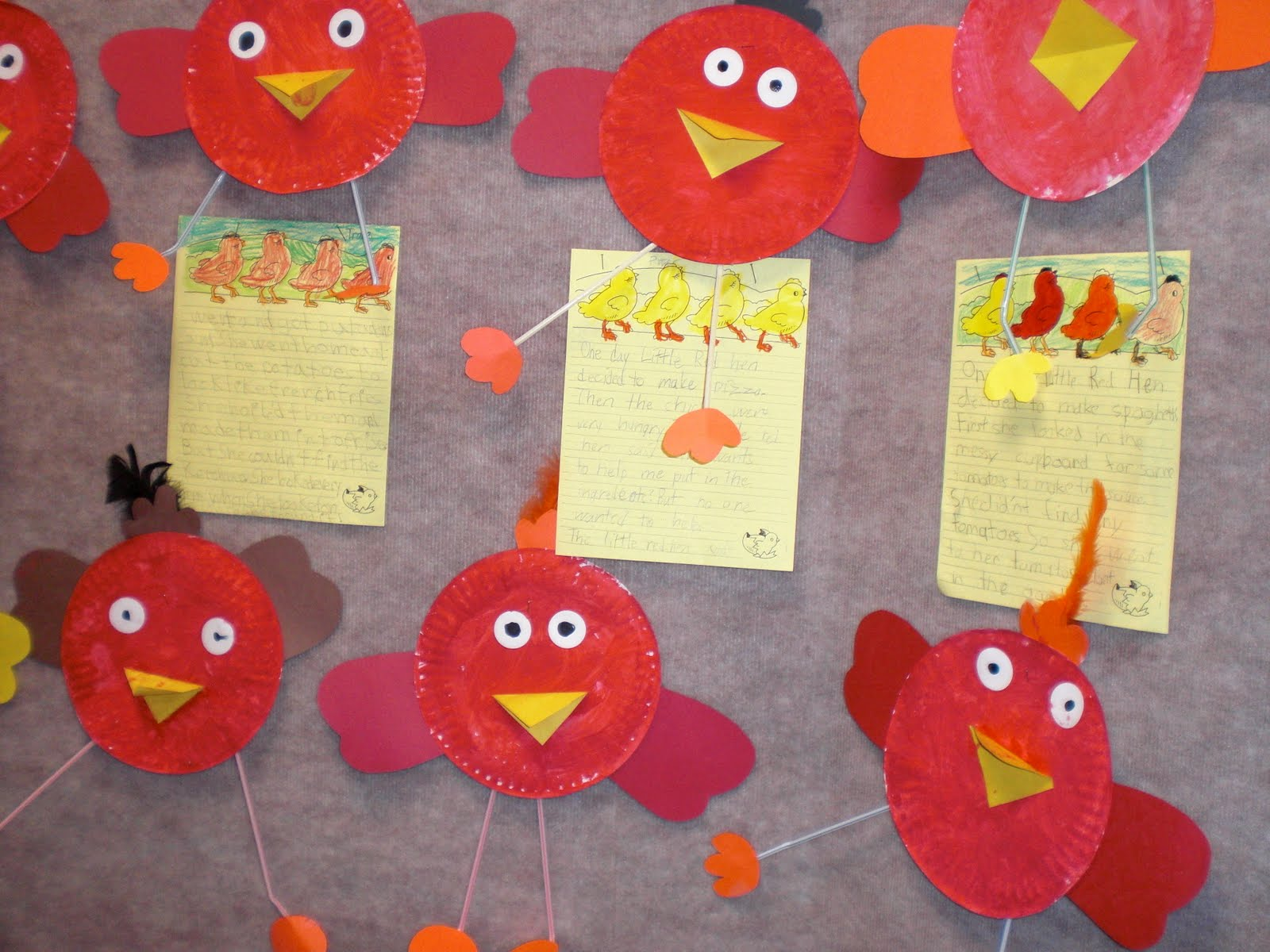 PATTIES CLASSROOM: The Little Red Hen