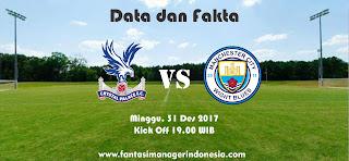 Data dan Fakta Fantasy Premier League Crystal Palace vs Manchester City Fantasi Manager Indonesia