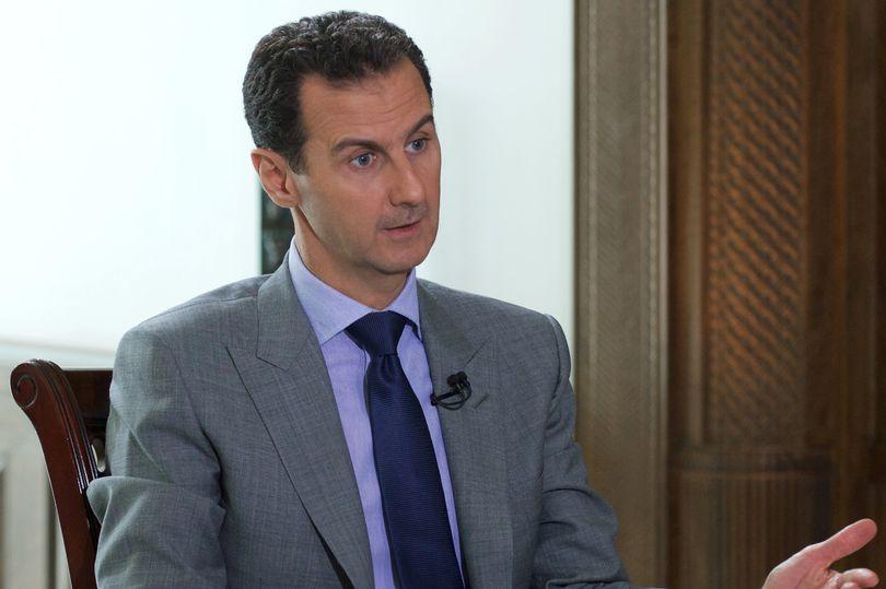 Syrias-President-Bashar-al-Assad-speaks-during-an-interview-with-Russian-tabloid-Komsomolskaya-Prav