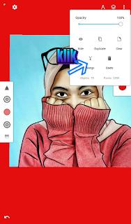 Cara Membuat Edit Foto Line Art di HP Android