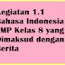 Kegiatan 1.1 Bahasa Indonesia SMP Kelas 8 yang Dimaksud dengan Berita