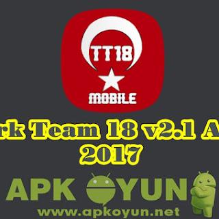 Türk Team 18 v2.1 APK + SD İNDİR - TT 18