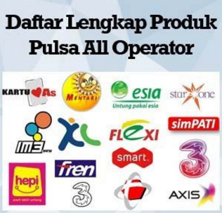 Daftar Harga Agen Pulsa Murah Elektrik All Operator