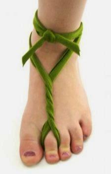 Accesorios para el pie diy
