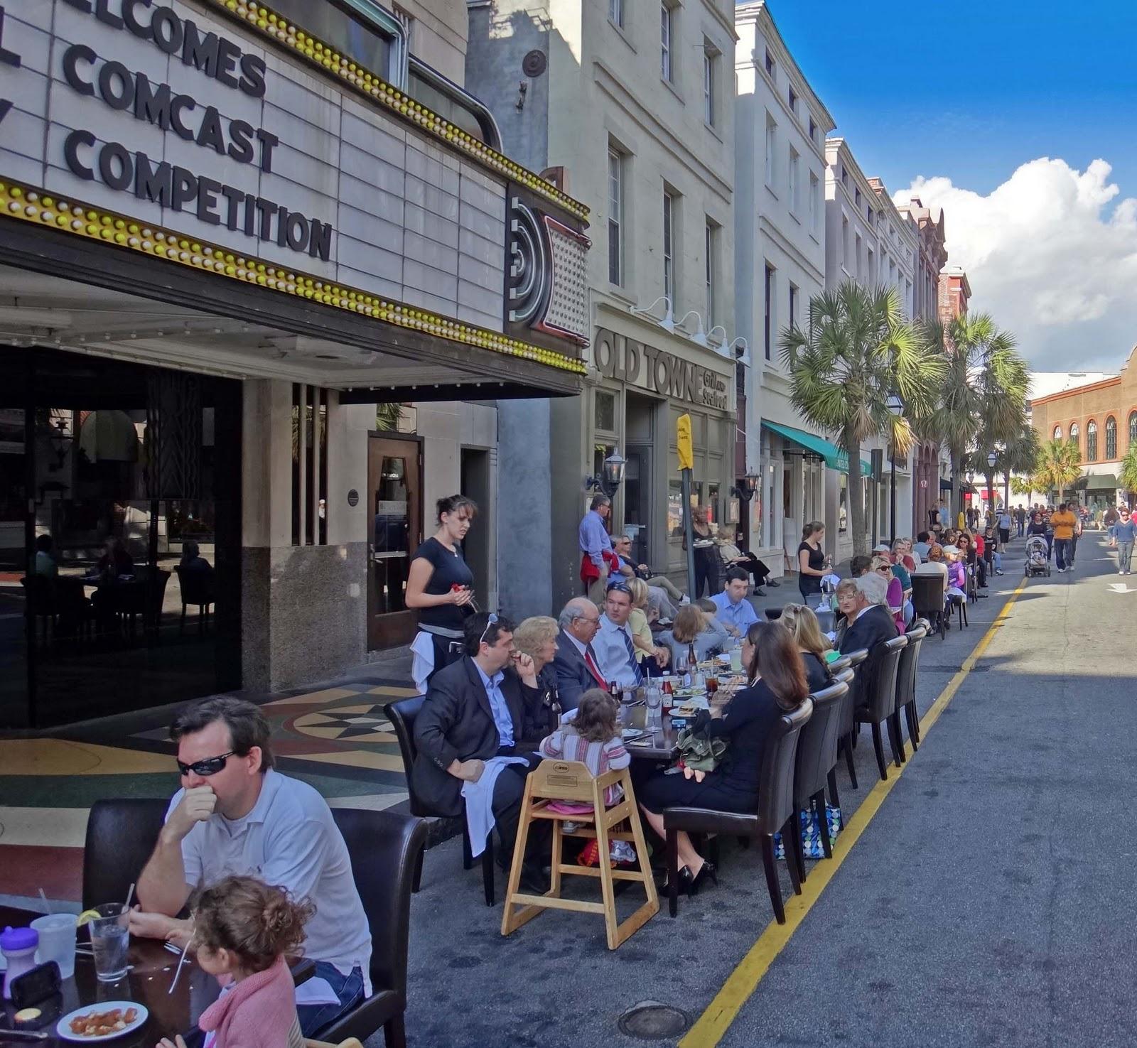 King St Charleston Sc: Joe's Retirement Blog: King Street For Pedestrians