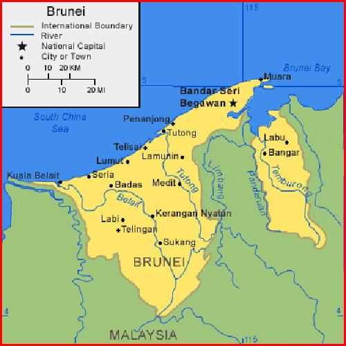 imega: Brunei Map HD