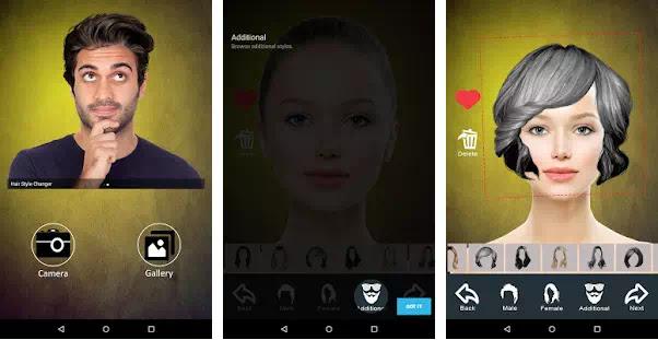 Aplikasi Pengubah Gaya Rambut Terbaik Android - Semutsujud ...