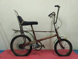 Sepeda Klasik Raleigh Chopper