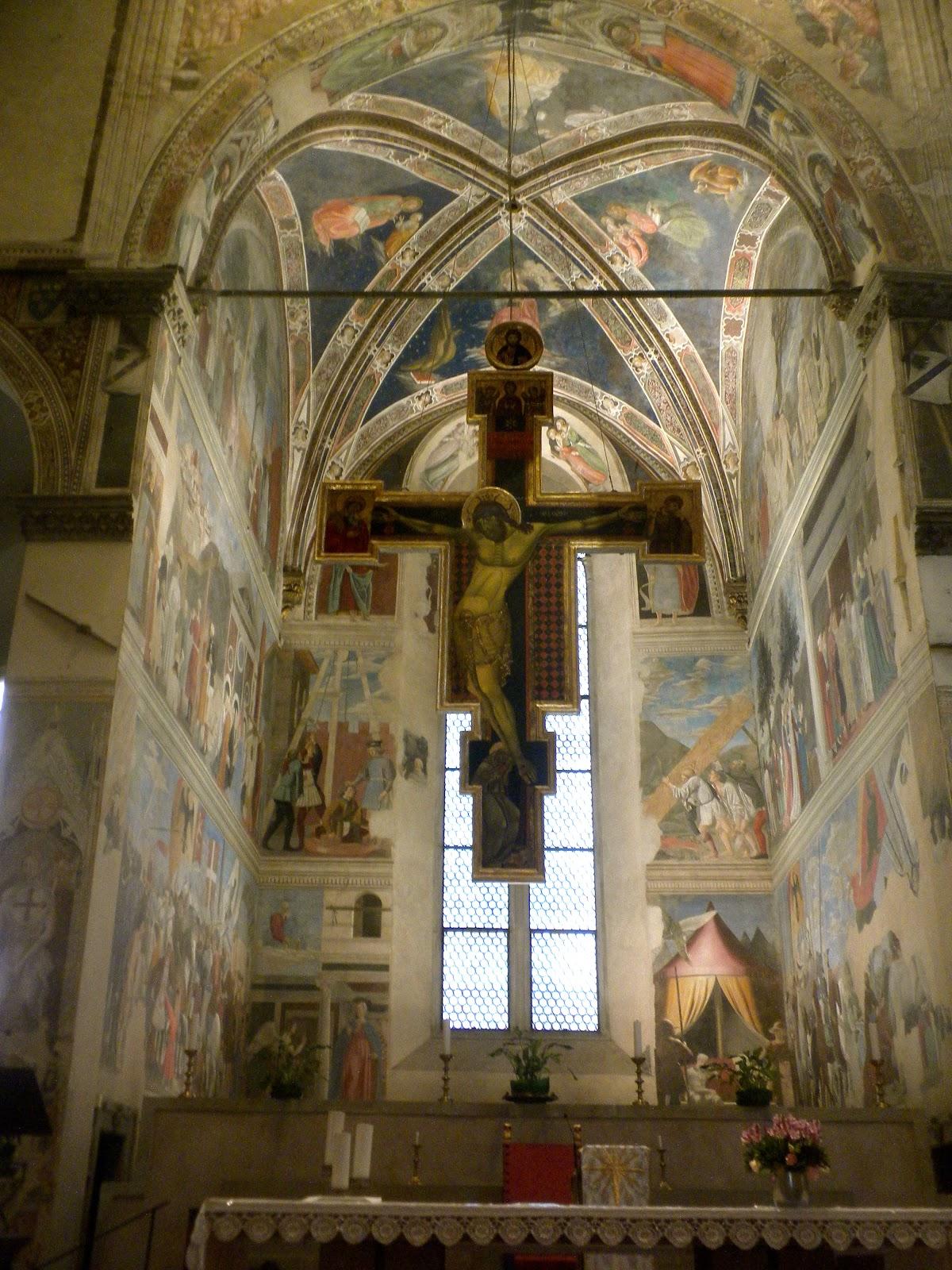 From A Tuscan Hillside Piero Della Francesca And The Fall