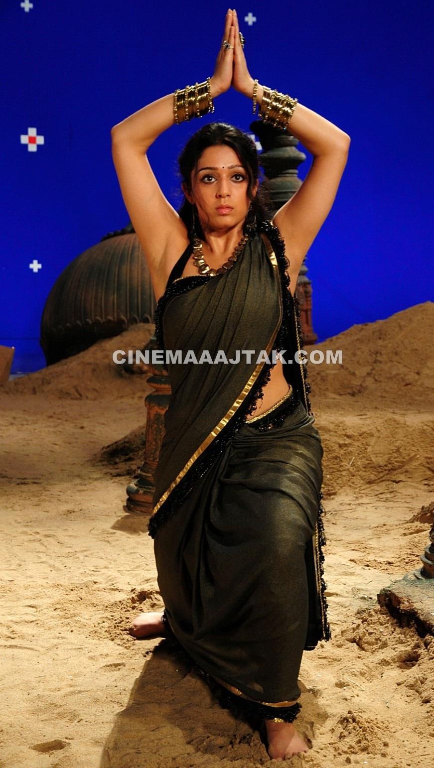 Charmi Kaur In New Sexy Saree Images  Jomblodotcom-6181