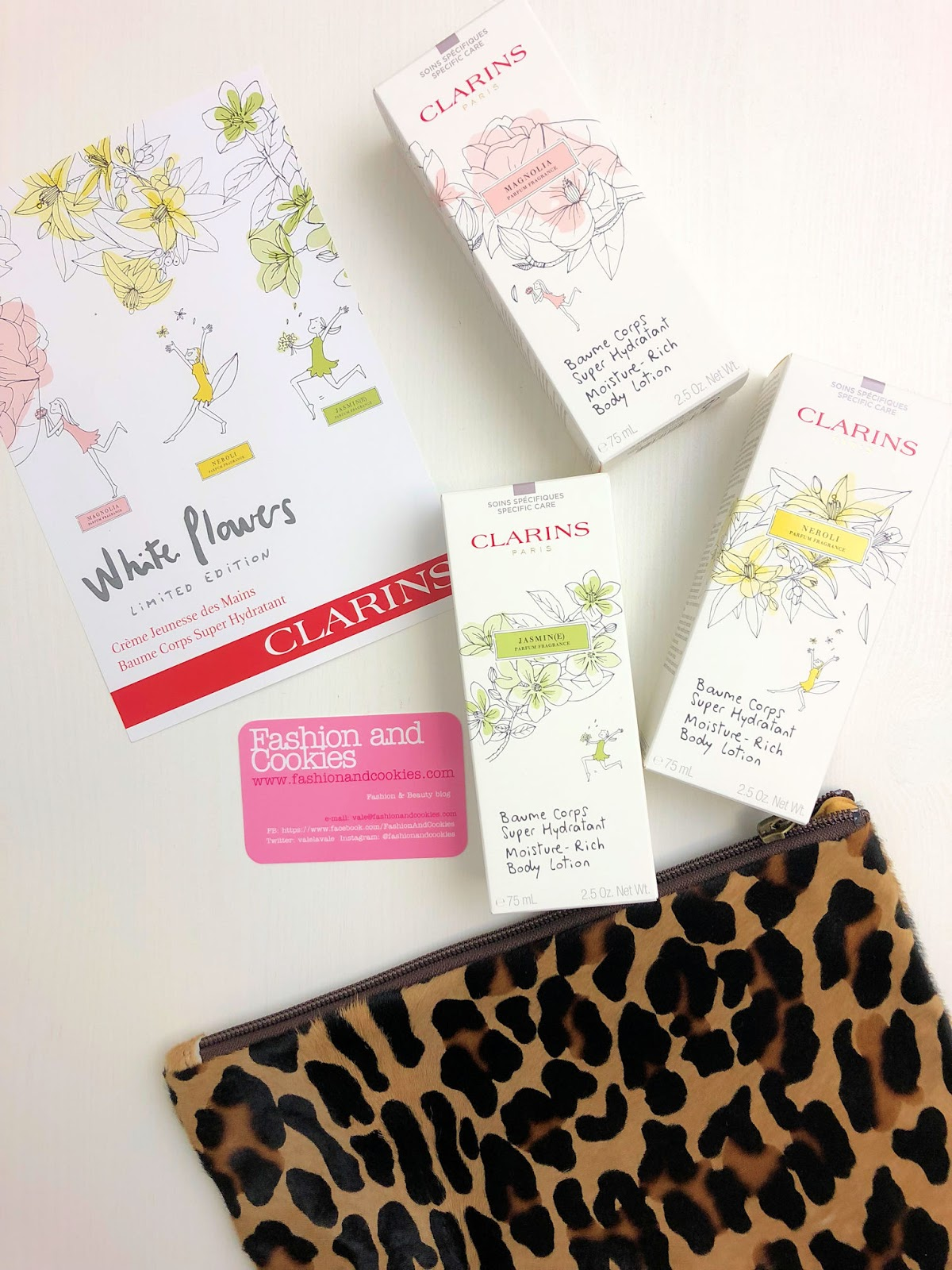 Clarins White Flowers limited edition magnolia, gelsomino e neroli su Fashion and Cookies beauty blog, beauty blogger