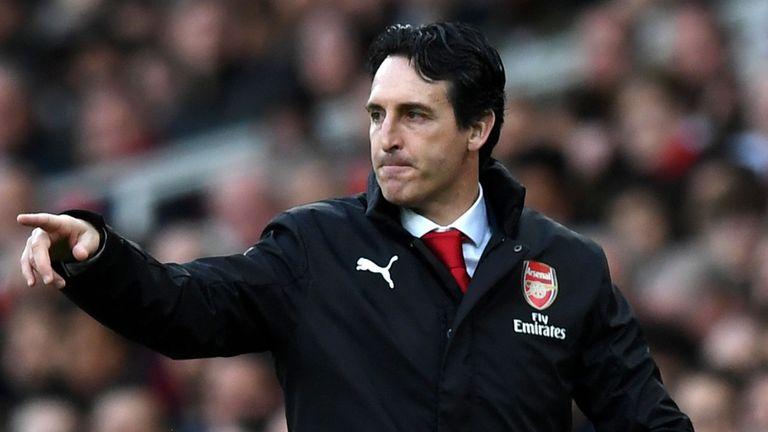 Emery Belum Lempar Handuk Kejar Tiket Liga Champions