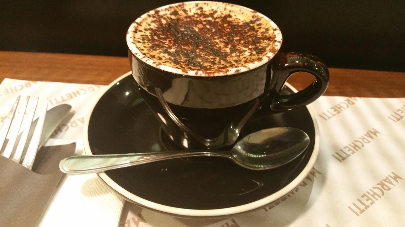 Marchetti Cafe Menu