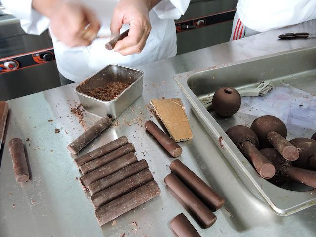 Atomium en chocolat
