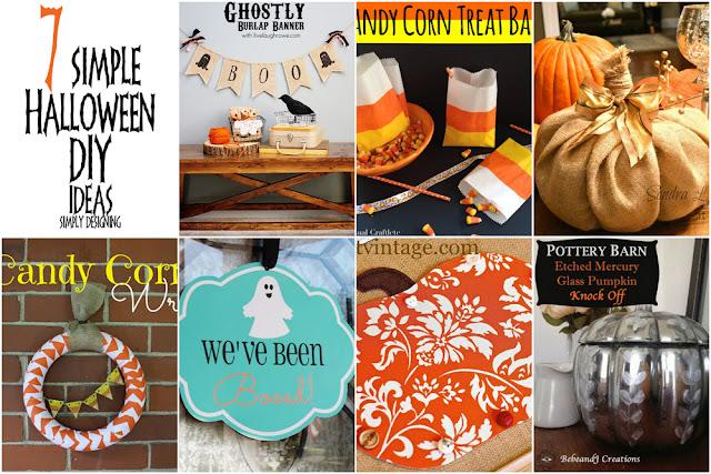 7 Simple Halloween DIY Ideas | #diy #halloween #crafts | Simply Designing