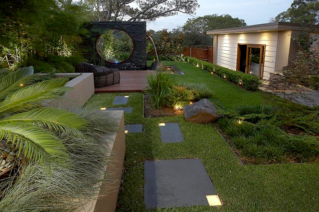 Landscape Design For Modern Home