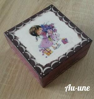 Amelkowe pudełeczko