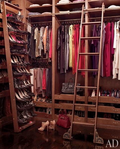 Brooke Shields  luxury fantasy closet