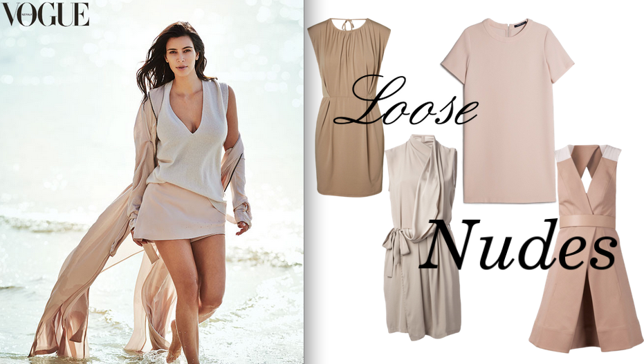 KIM KARDASHIAN, KIM K, KIMYE, NUDE, FLOWY, NATURAL, GET THE LOOK, CELEB, CELEB LOOK, CELEBRITY, CELEB STYLE, VOGUE, AUSTRALIA, STAR, MAKEUP, FASHION, STYLE, BEAUTY, HOW TO,