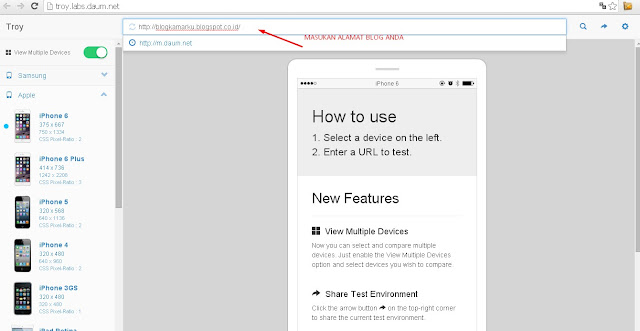 Tips Cara Cek blog responsive belum !