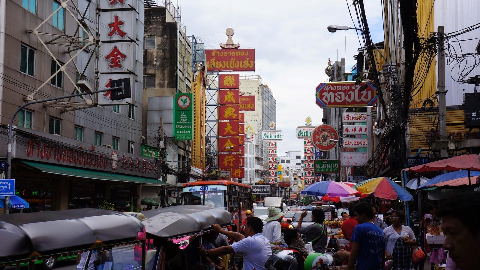 Yaowarat Road, Bangkok's Chinatown