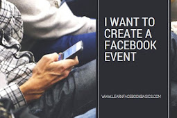 I want to create a Facebook event