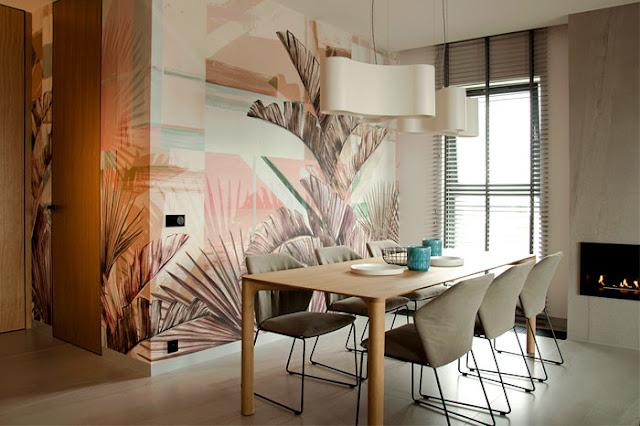 Дизайн-проекты. Квартира в пастельных тонах от Interno