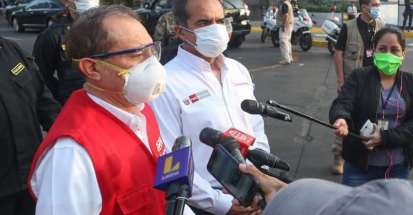 CUARENTENA HASTA FIN DE MES: Ministro de Defensa afirma que medida ayudaría enfrentar la pandemia del coronavirus
