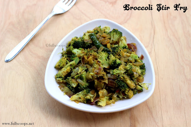 Broccoli StirFry