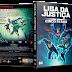 Liga Da Justiça: Os Cinco Fatais DVD Capa