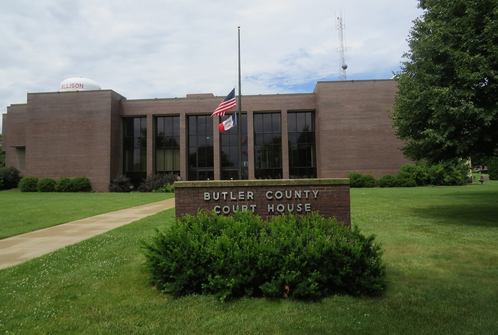 Liberty or Death: Butler County Courthouse