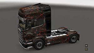 Rock skin for Scania R