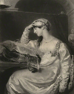Isabella Ann Wolff  by Samuel Cousins  after Sir Thomas Lawrence  mezzotint published 1831 by  P & D Colnaghi & Co  © National Portrait Gallery, London