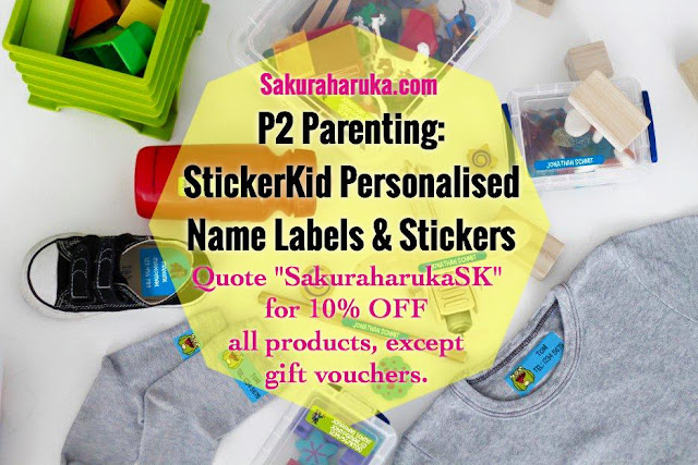 P2 parenting stickerkid personalised name labels stickers