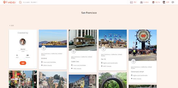 圖說:Funbox景點資訊頁面,圖片來源:Fungogo